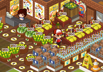 QQ超市无宝石摆法 好运综合商店16个双面购货摆法