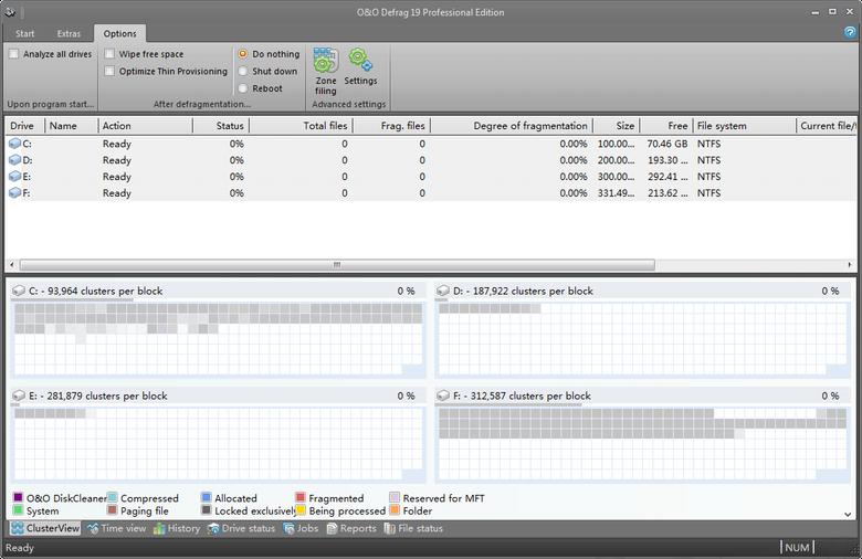 磁盘碎片整理软件O&O Defrag Pro19.0.99 破解版