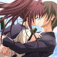 亲吻图片大全动漫精选超甜蜜 你亲吻她不如和我偷情