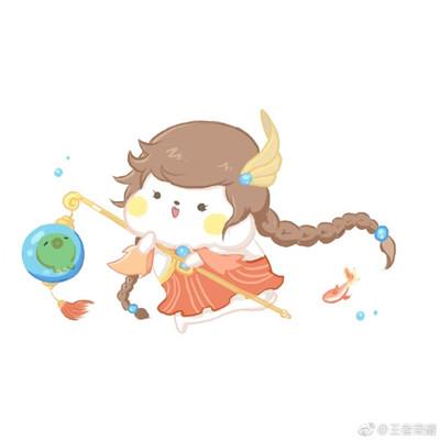 王者荣耀q萌人物头像超可爱 2017最新王者荣耀头像萌萌哒