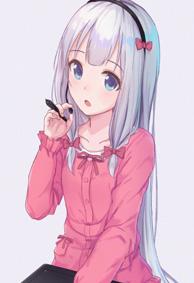 动漫手机壁纸高清竖屏 二次元少女专属的手机壁纸