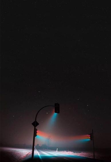 抖音路灯壁纸亮灯效果图片大全 抖音路灯壁纸高清个性版图片