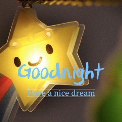 晚安英文唯美语录图片2018最新 暖心晚安祝好梦的英文图片