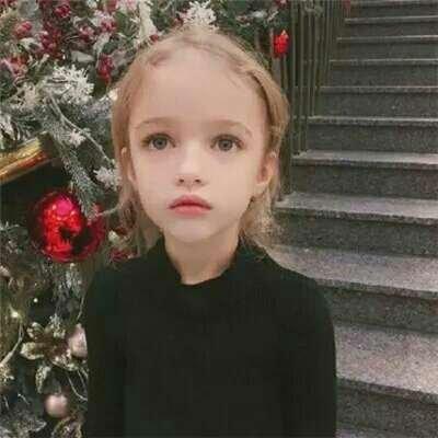 欧美小孩头像超萌女孩2018最新 我这性子终究难改最终活该