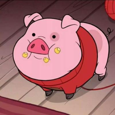 超萌可爱卡通猪头像2019最新 祝大家猪事顺利猪年大吉