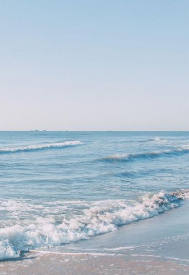 海边文艺小清新手机壁纸 夏天风景壁纸高清无水印