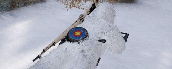 和平精英训练场雪地吉利服在哪 训练场雪地吉利服具体位置
