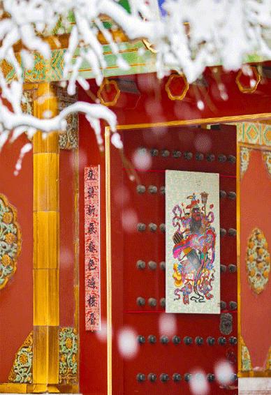 故宫雪景壁纸上新 2020最新故宫雪景壁纸