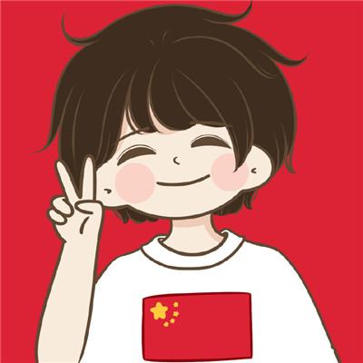 国庆中秋同庆卡通情侣头像 今日份双节的好运请签收