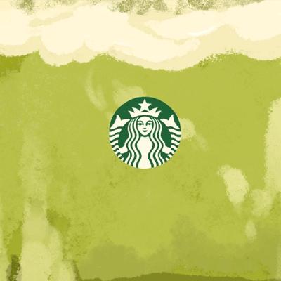 最新卡通个性奶茶空间背景图片 这些都是奶茶控的最爱