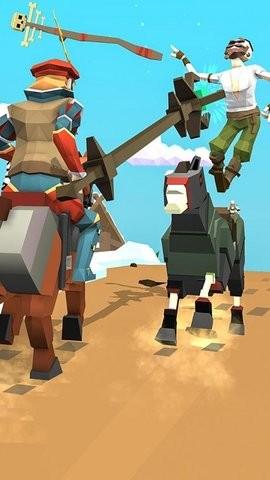西部荒野骑士对决