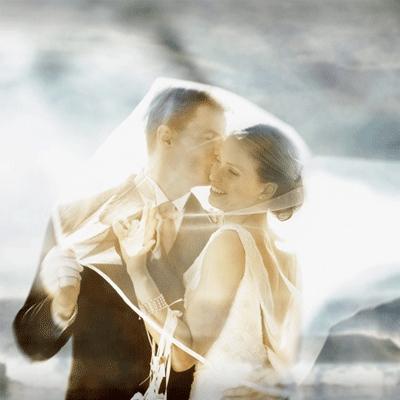 2021女孩子梦幻的婚纱接吻爱情图片 你朝我走来的路途温柔了万般光景