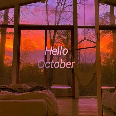 关于十月的唯美景象空间素材 十月大家一切顺利