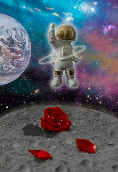 2021可爱又浪漫的宇宙太空人空间皮肤 梦幻又唯美的空间皮肤