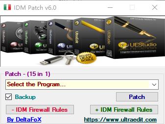 IDM  Universal  Patch