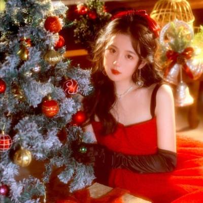 一组多人系列的圣诞节闺蜜头像大全