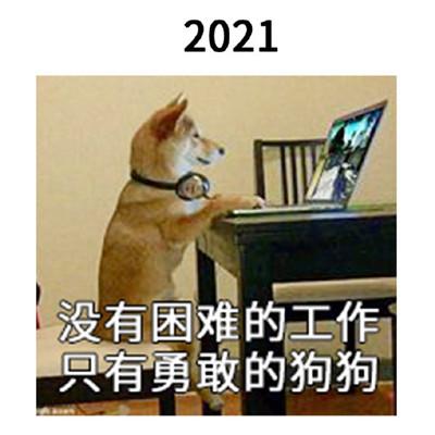 2021一组跨年的搞笑表情包大全-云奇网