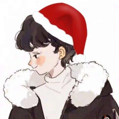 2020圣诞节专属可爱的圣诞帽微信头像 今年的所有遗憾是来年惊喜的铺垫