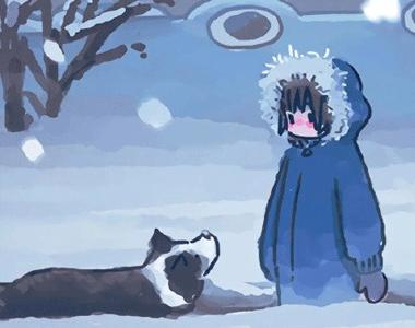 冬季天冷却让你感到很幸福的签名 让你整个冬季感到幸福