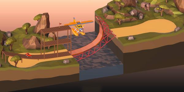 桥梁建造游戏