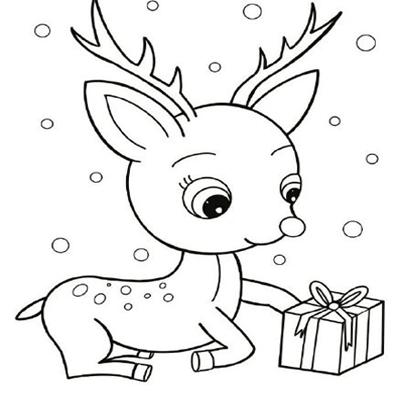 2020圣诞节儿童简笔画素材大全 告别过的人就不要因为回忆而悸动