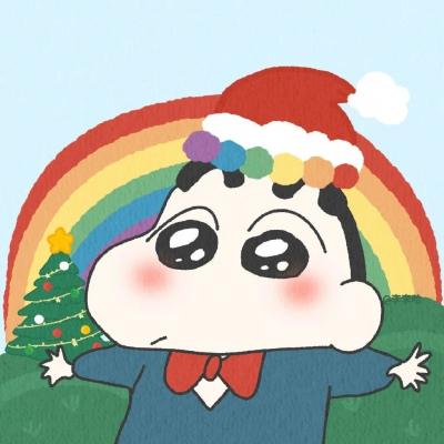 可爱卡通圣诞节情侣头像大全2020 最新圣诞节动漫情侣头像一对