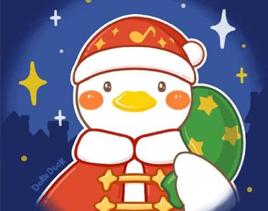 2020圣诞节超级可爱的卡通素材 我的快乐