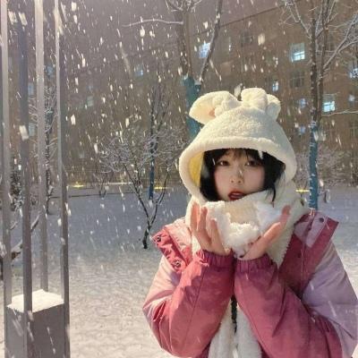 2020大雪节气专属的暖心好看头像 雪落知春意久伴见初心