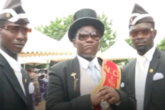 黑人抬棺材什么梗 抖音黑人抬棺材什么意思