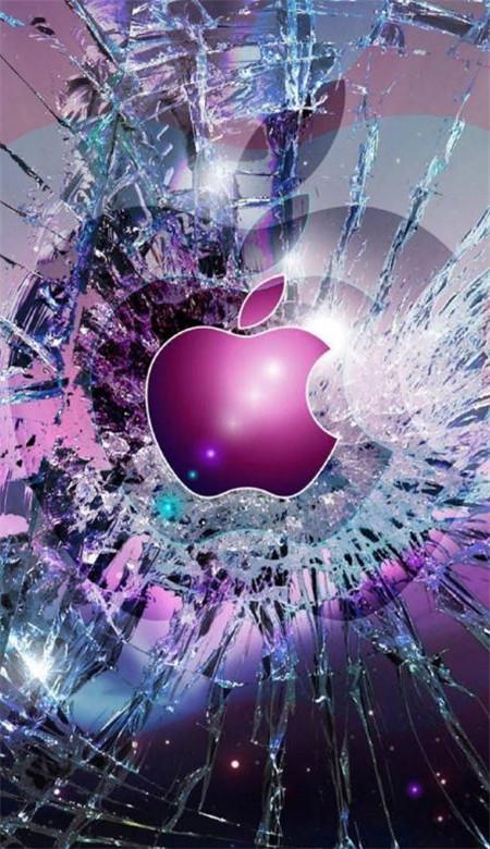 碎屏手机壁纸恶搞图片高清_仿真手机屏碎的壁纸大图