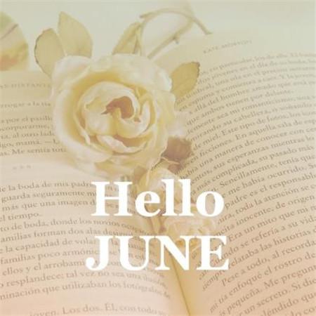 你好六月图片素材带字2020 你好6月唯美图片意境(图4)