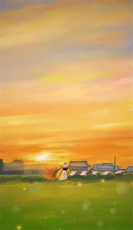 小清新唯美风景油画手机壁纸 好看意境的风景油画大图(图3)