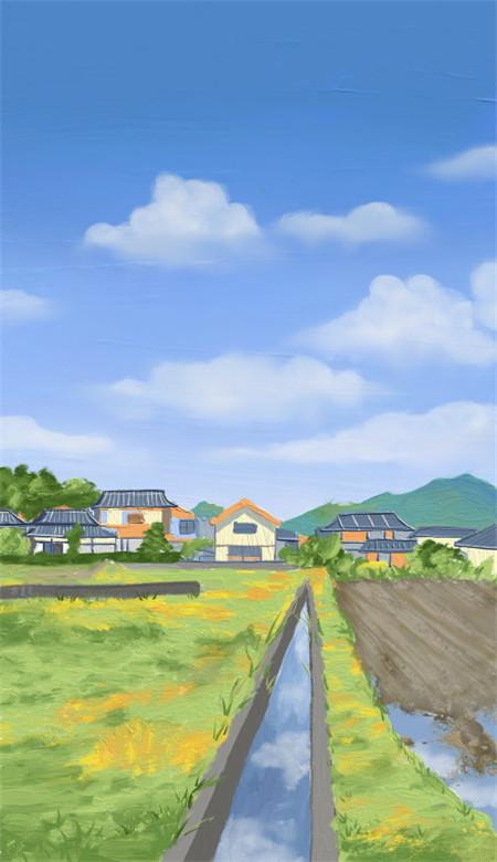 小清新唯美风景油画手机壁纸 好看意境的风景油画大图(图6)