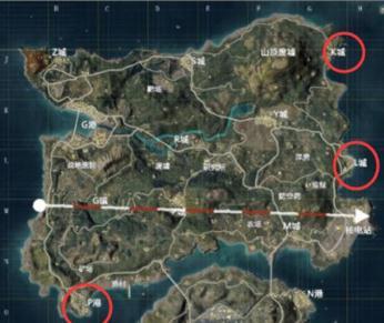 和平精英海岛地图在哪里物资丰富人少 海岛地图物资丰富人少地点分享