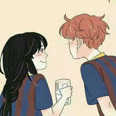 抖音最火动漫情侣头像一对 爱你多一点对你温柔点