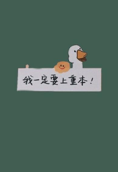 2020高考手机壁纸励志文字 高三骂醒own