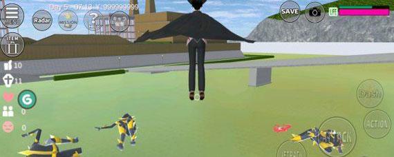 樱花校园模拟器外星人打法 樱花校园模拟器外星人BOSS攻