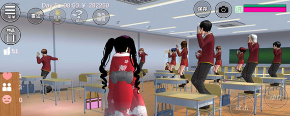 樱花校园模拟器怎么让心情变好 樱花校园模拟器心情恢复