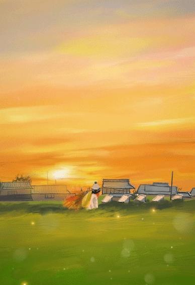Tiktok最火油画壁纸 小清新唯美意境风景油