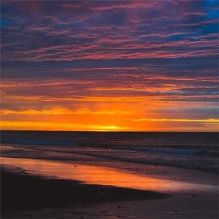 夕阳风景图片唯美真实 夕阳图片大全高清无水印