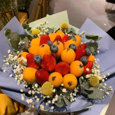 水果花束picture大全 好看有originality的水果花束