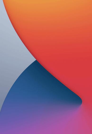 iOS 14官方壁纸原图高清 iOS14全新概念手机壁纸