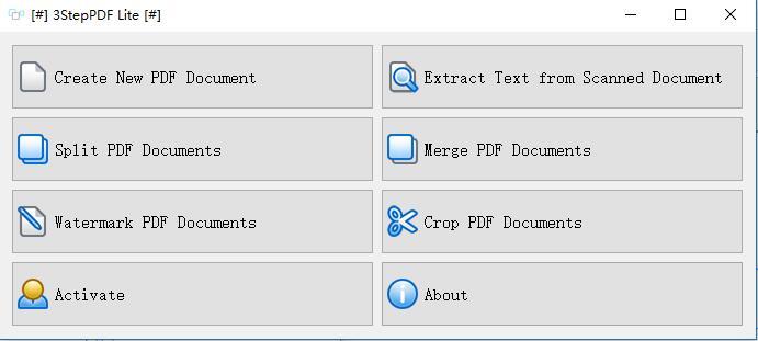 3StepPDF(多功能PDF处理工具)v1.2.0 官方版