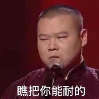 小岳岳表情包搞笑大全_2020岳云鹏经典表情图片