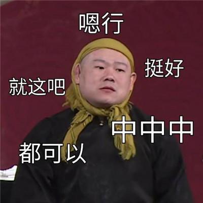 小岳岳微信表情包高清好笑 岳云鹏classic表