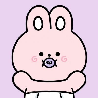 抖音超火卡通可爱头像小动物_小样老子还搞不定你个兔崽子