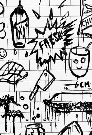 欧美街头涂鸦主题手机壁纸 复古个性欧美