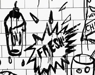 欧美街头涂鸦主题手机壁纸 复古个性欧美风壁纸picture