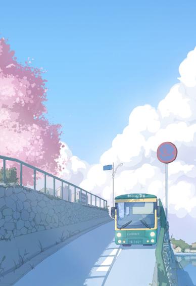 蓝色日系小清新壁纸合集 日系风景picture街