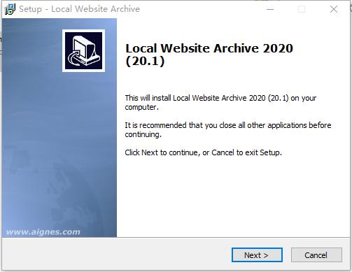 Local Website Archive(网页保存软件)v20.1 官方版